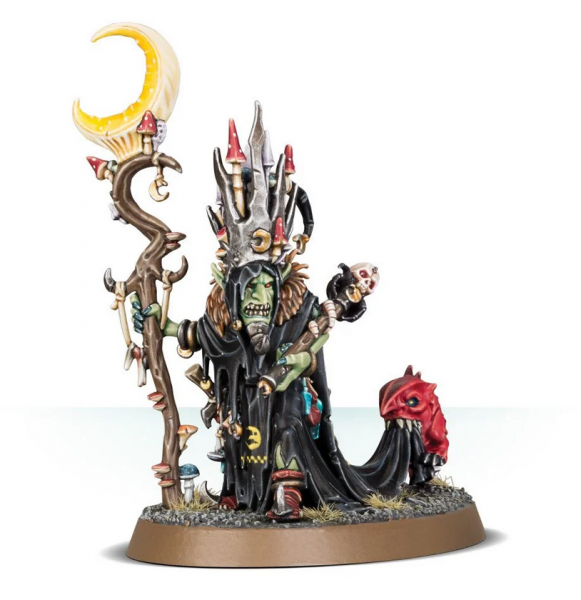 Age of Sigmar: Gloomspite Gitz Skragrott the Loonking