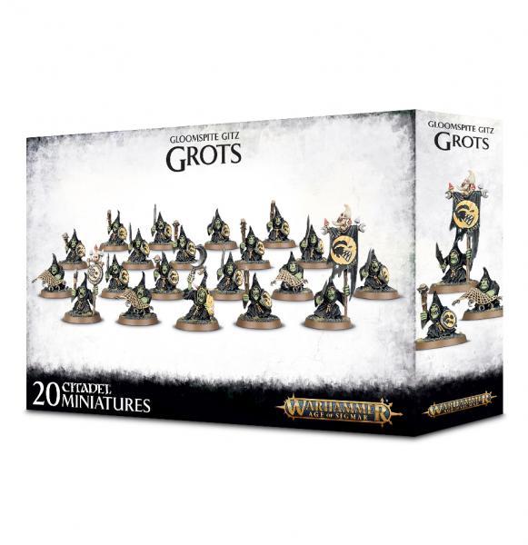Age of Sigmar: Gloomspite Gitz Grots
