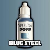 Turbo Dork Paints: Blue Steel Metallic Paint (20 ml)