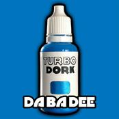 Turbo Dork Paints: Da Ba Dee Metallic Paint (20 ml)