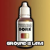 Turbo Dork Paints: Ground Is Lava Colorshift Paint (20 ml)