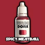 Turbo Dork Paints: Spicy Meatball Metallic Paint (20 ml)