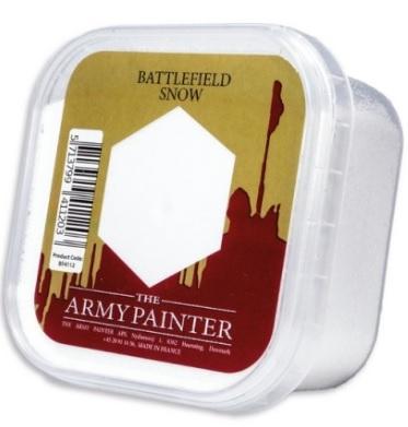 Hobby Basing: Battlefield Snow