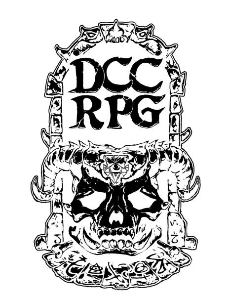Dungeon Crawl Classics RPG: Demon Skull Re-issue (Limited Edition) (HC)