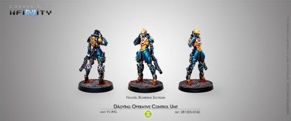 Infinity (#760) Yu Jing: Daoying Operative Control Unit (Hacker) (1)
