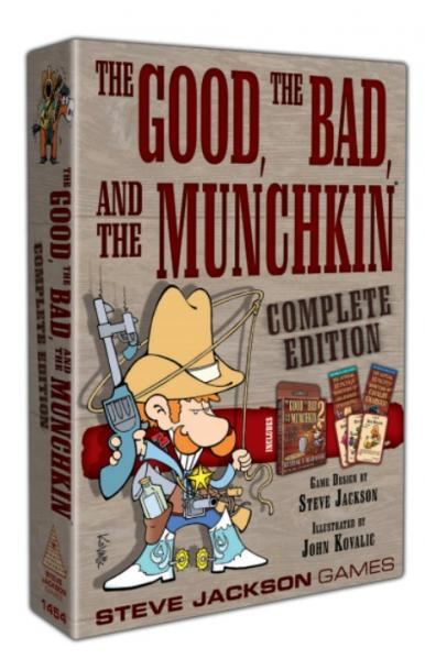 Munchkin: The Good, The Bad & The Munchkin - Complete Edition