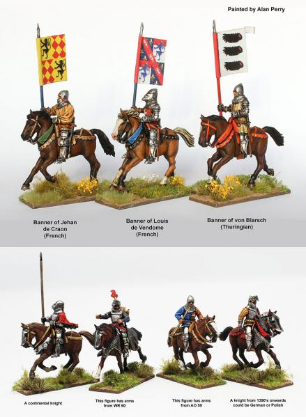 28mm Historical: Agincourt Mounted Knights