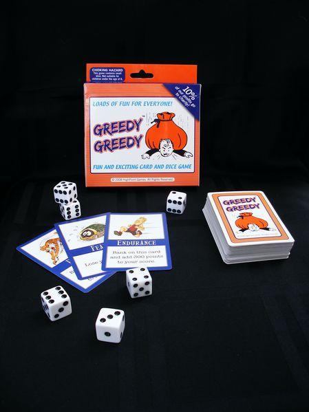 GreedyGreedy Card Game