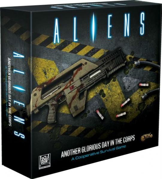 Aliens - Another Glorious Day In The Corps (co-op boardgame based on the hit movie)