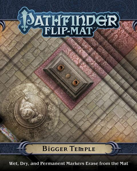 Pathfinder RPG: (Flip-Mat) Bigger Temple