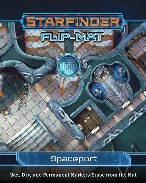 Starfinder RPG: Starfinder Flip-Mat - Spaceport