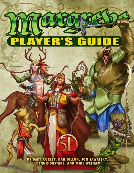 D&D 5th Edition: Margreve Player's Guide
