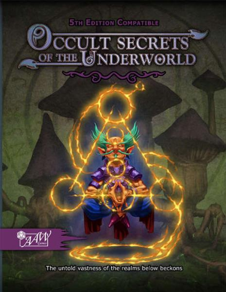 D&D 5th Edition: Occult Secrets of the Underworld