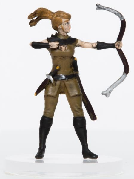 28mm Fantasy: Characters of Adventure - Female Human Archer (1)