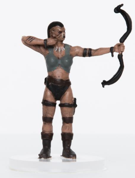 28mm Fantasy: Characters of Adventure - Female Orc Archer (1)