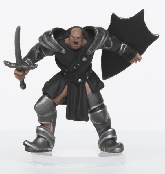 28mm Fantasy: Characters of Adventure - Male Orc Paladin (1)