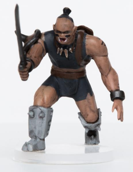 28mm Fantasy: Characters of Adventure - Male Orc Warrior (1)