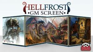 Savage Worlds RPG: Hellfrost GM Screen with Adventure