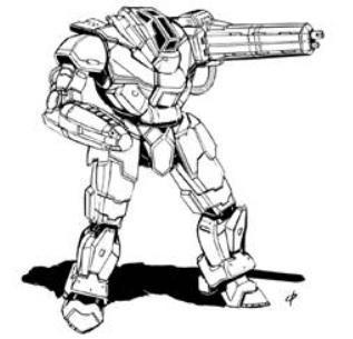 BattleTech Miniatures: Scourge SCG-WF1 Mech - 65 Tons – TRO 3145 Lyran Commonwealth