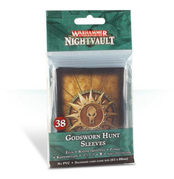 Warhammer Underworlds: Godsworn Hunt Sleeves (38)