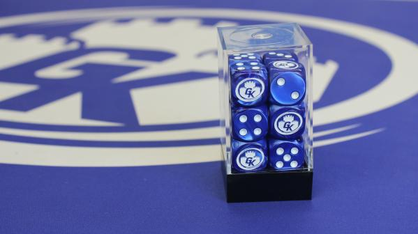 Game Kastle Dice Set six-Sided 16mm (12)