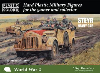 15mm WWII: German Steyr Heavy Car (5)