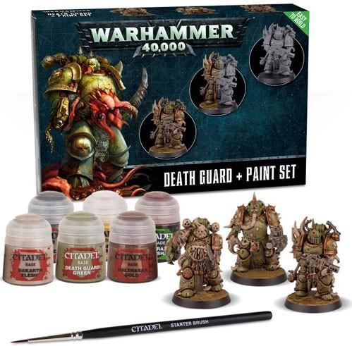 WH40K: Death Guard Paint Set (2019)