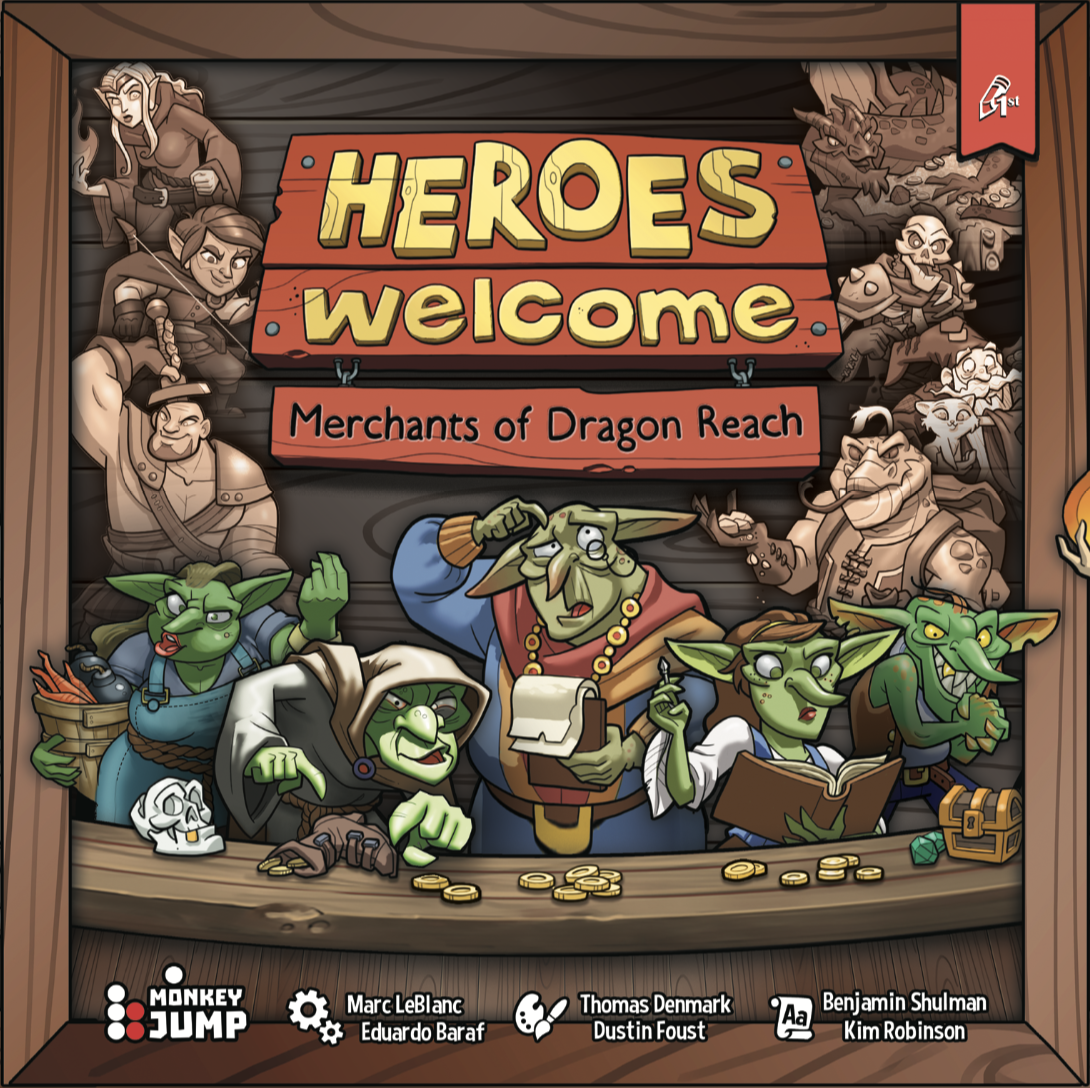 Heroes Welcome: Merchants of Dragon Reach (Core Game)