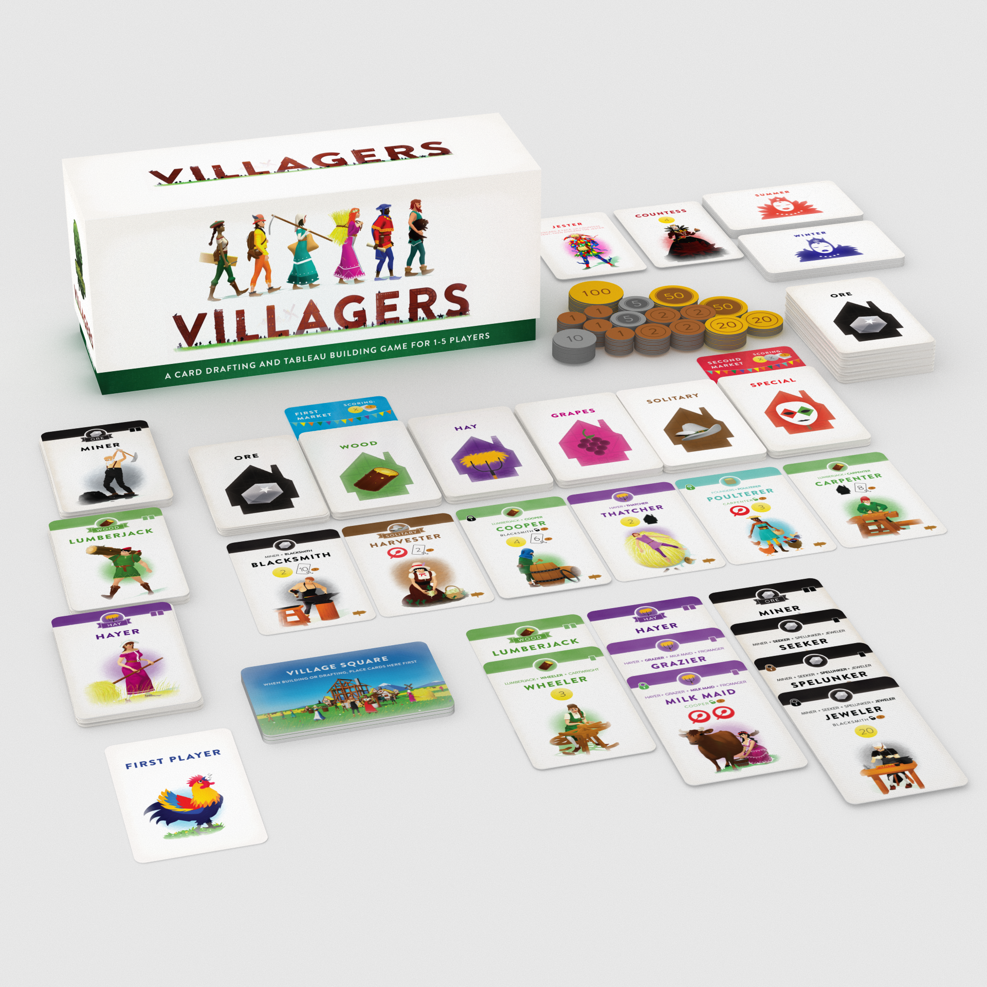 Villagers (Boxed Card Game)