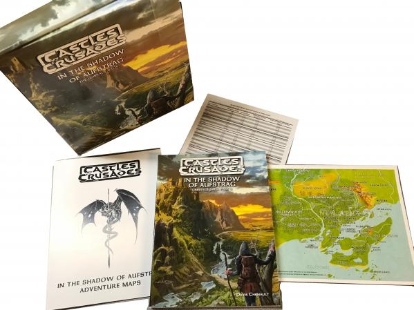 Castles & Crusades RPG: In the Shadow of Aufstrag Box Set