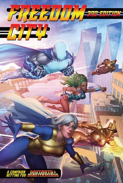 Mutants & Masterminds, 3rd Edition RPG: Freedom City (HC)