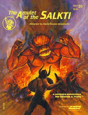 Tunnels & Trolls RPG: Amulet of Salkti