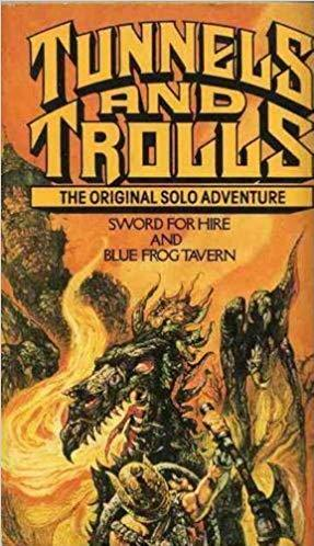 Tunnels & Trolls RPG: Sword for Hire & Blue Frog Tavern