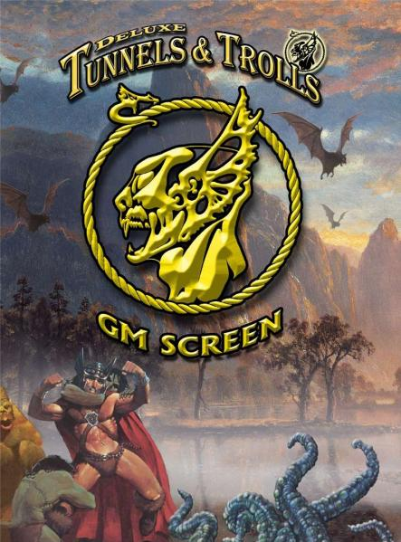 Tunnels & Trolls RPG: GM Screen