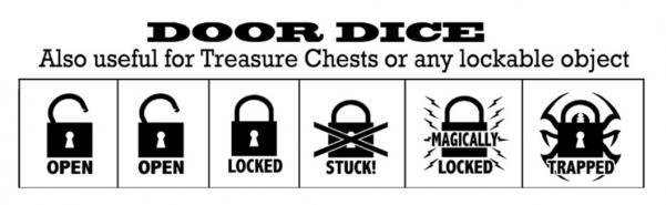 Special Icon Dice: Door Dice