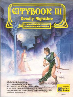 Roleplaying Accessories: Citybook III - Deadly Nightside