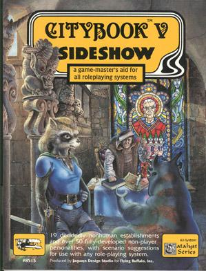 Roleplaying Accessories: Citybook V - Sideshow