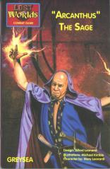Roleplaying Accessories: Lost Worlds, Reprints, Arcanthus Sage