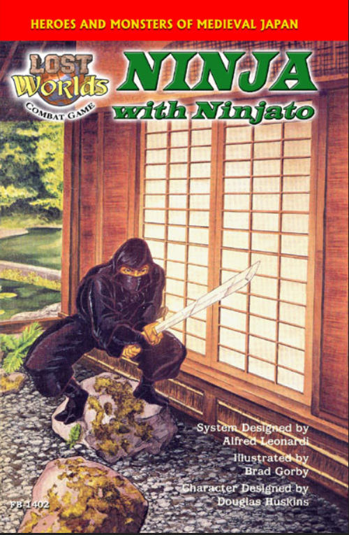 Roleplaying Accessories: Lost Worlds, Reprints, Ninja