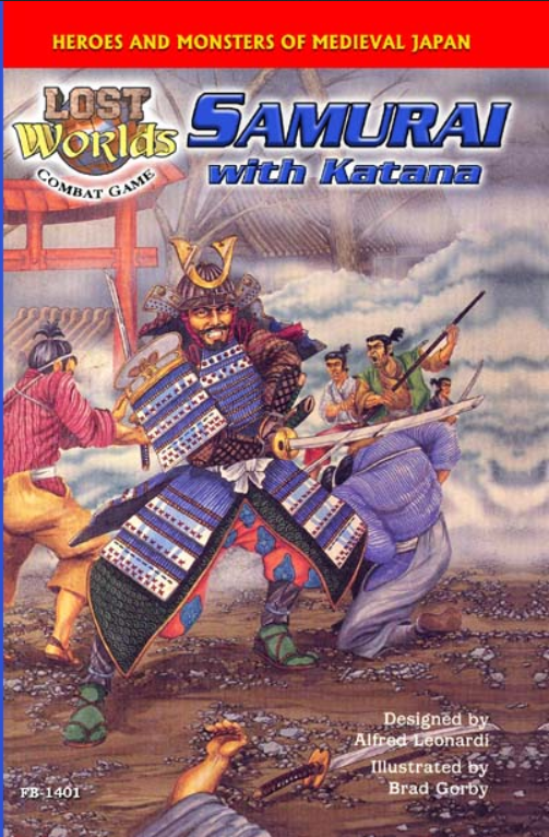 Roleplaying Accessories: Lost Worlds, Reprints, Samurai