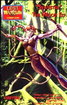 Roleplaying Accessories: Lost Worlds, Reprints, Sylvestra Wood Elf