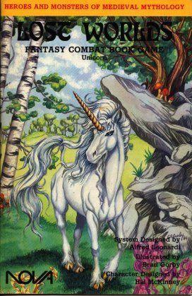 Roleplaying Accessories: Lost Worlds, Reprints, Unicorn