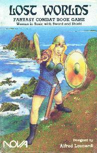Roleplaying Accessories: Lost Worlds, Reprints, Woman in Scale
