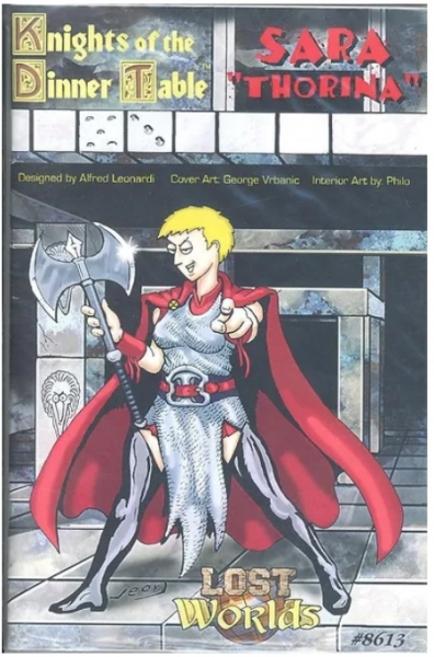 Roleplaying Accessories: Knights of the Dinner Table Lost Worlds, Thorina