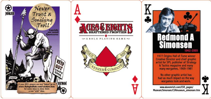 Origins Poker Deck 2008