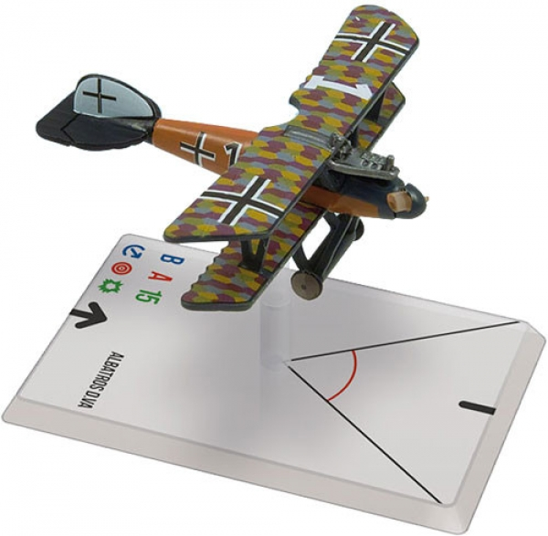 Wings Of Glory WWI Miniatures: Albatros D.V (Weber)
