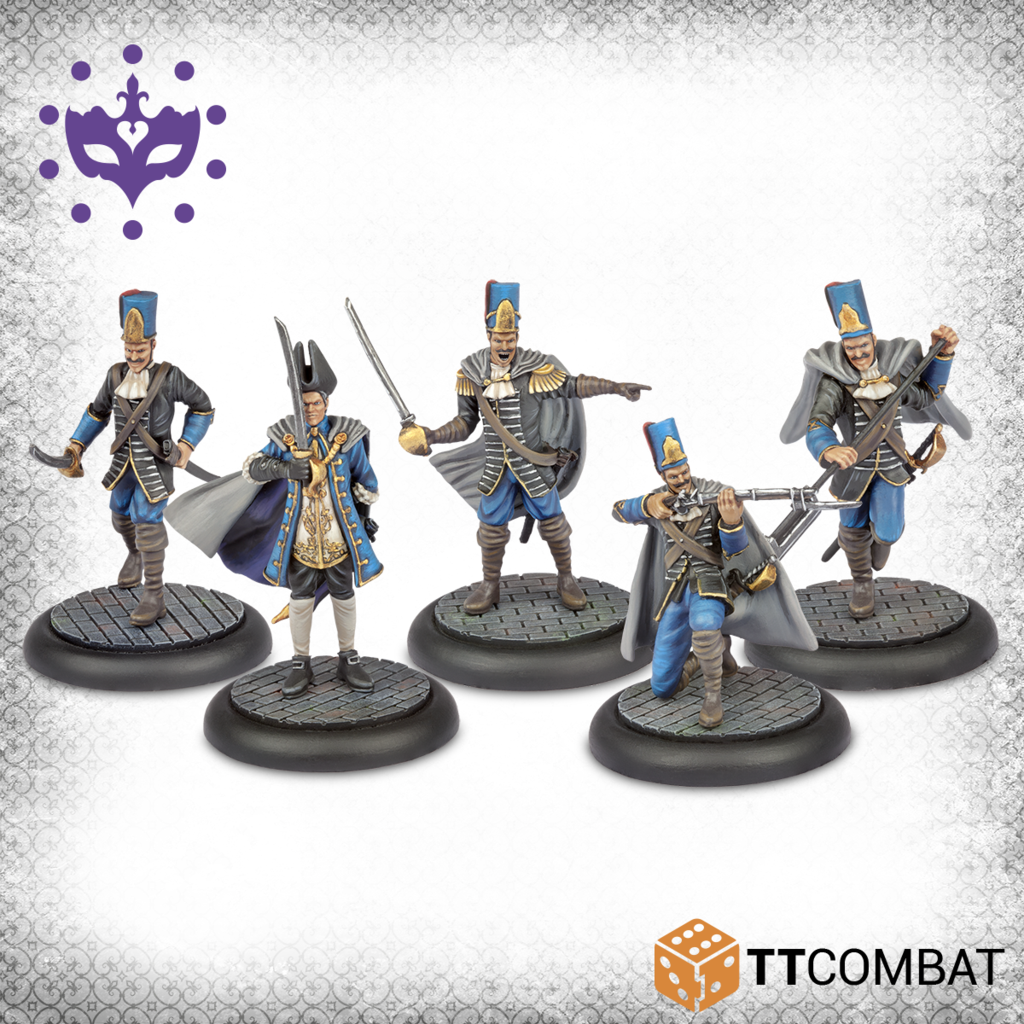 Carnevale: City Guard Box Set