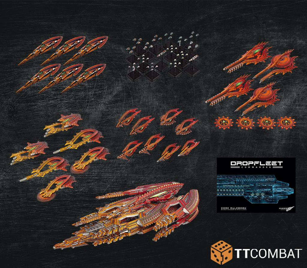 Dropfleet Commander: Shaltari Dropfleet Commander Bundle (Limited)