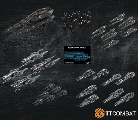Dropfleet Commander: UCM Dropfleet Commander Bundle (Limited)