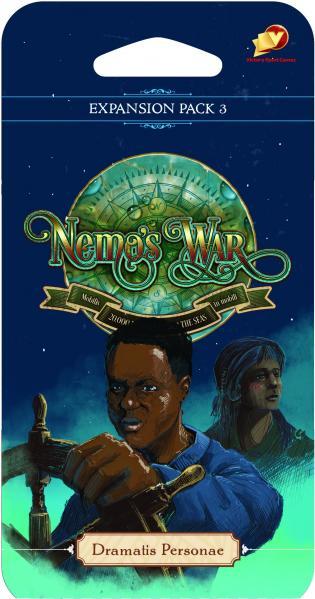Nemo's War: Dramatis Personae Expansion Pack #3